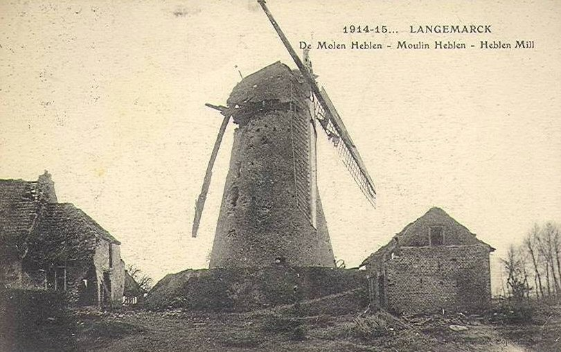 Langemark Windmühle Poelkapelle